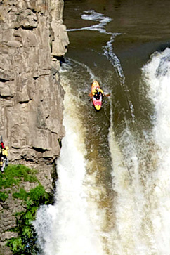 redbull kayak 189 foot waterfall