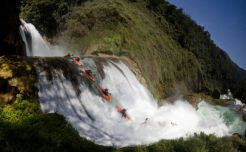 kayak waterfall red bull