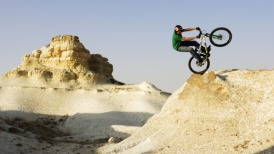BMX mountain top red bull awesome