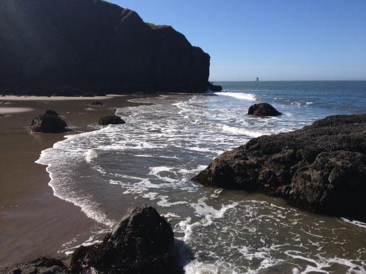 China Beach, San Francisco, waves