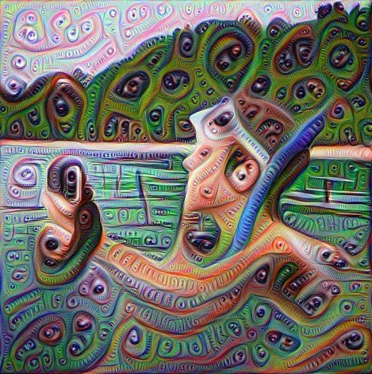 deep dream, deepdream, AI, neural nets, deep learning, Instagram, Google Research, AI, amyleerobinson