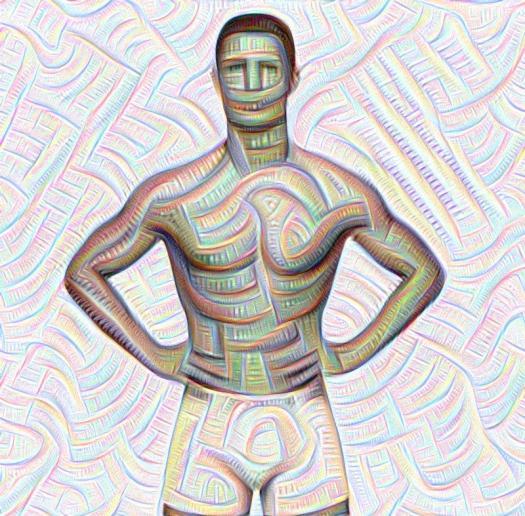 deep dream, deepdream, AI, neural nets, deep learning, Instagram, Google Research, AI, model, Cristiano Ronaldo, futbol, athlete, Instagram