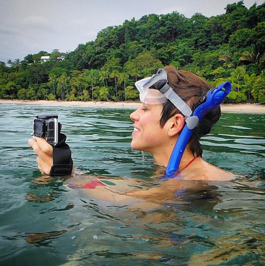 @amyleerobinson, Amy Robinson, Costa Rica, Swimming, GoPro, Deep Dream, deepdream, AI